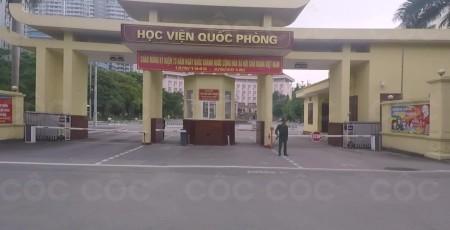 HỌC VIỆN QUỐC PHÒNG
